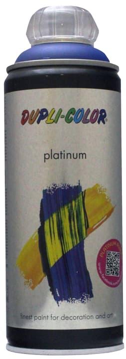Vernice spray Platinum opaco Dupli-Color 660834100000 Colore Blu genziana Contenuto 400.0 ml N. figura 1