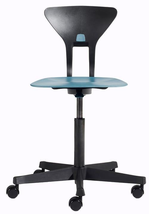 RAY Chaise de bureau Flexa 404689400040 Couleur Bleu Dimensions L: 60.0 x P: 60.0 x H: 95.0 Photo no. 1