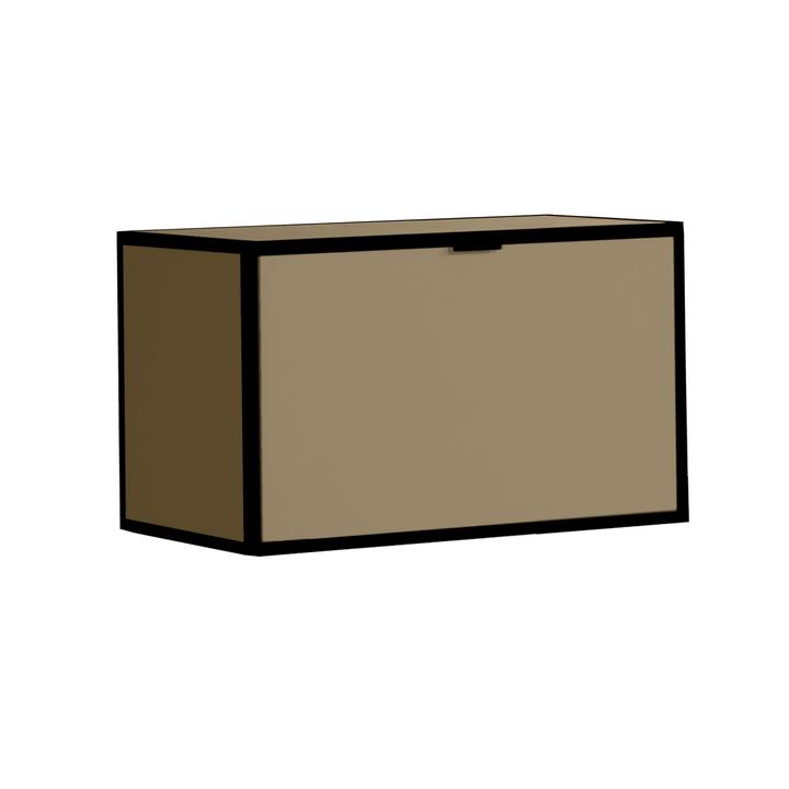 SEVEN Patta con coperchio Edition Interio 360984100000 Dimensioni L: 60.0 cm x P: 38.0 cm x A: 35.0 cm Colore Marrone N. figura 1