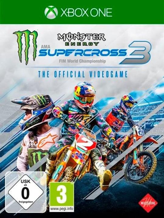 Xbox - Monster Energy Supercross 3 Box 785300150271 Photo no. 1