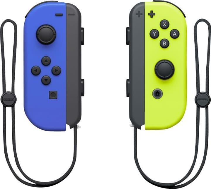 Switch Joy-Con 2er-Set Blau/Neon-Gelb Joy-Con Nintendo 785538400000 Bild Nr. 1