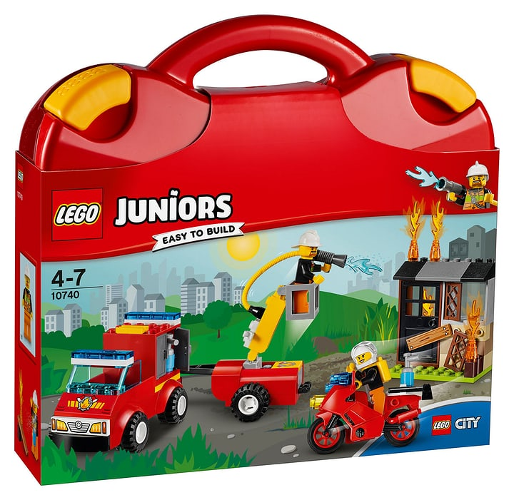 LEGO Juniors Löschtrupp-Koffer 10740 748831600000 Bild Nr. 1