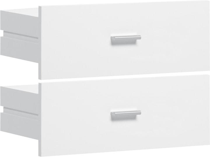 SAX Schubladen-Set schmal weiss 407552300000 Bild Nr. 1
