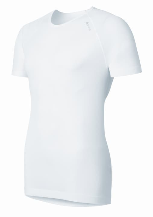Cubic Maglietta a manica corta da uomo Odlo 477005000410 Colore bianco Taglie M N. figura 1