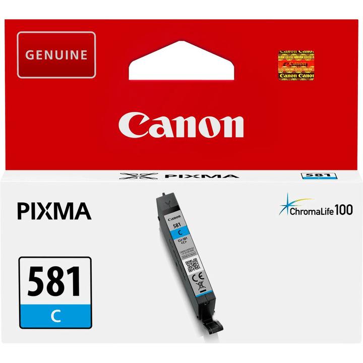 CLI-581 Cartuccia d'inchiostro cyan Cartuccia d'inchiostro Canon 798551700000 N. figura 1