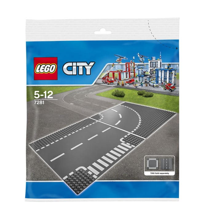 LEGO City Kurve/ T-Kreuzung 7281 744839100000 Bild Nr. 1