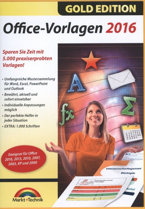 PC Gold Edition: Office Vorlagen 2016 785300122236 Photo no. 1