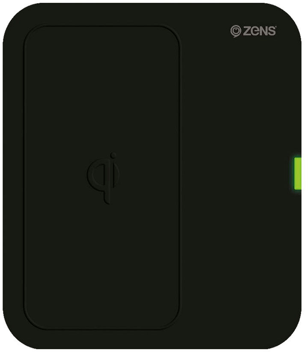 Single Wireless Charger (EU) black Zens 798602500000 N. figura 1