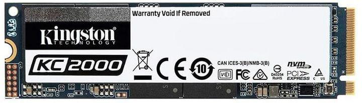 SSD KC2000 NVMe M.2 2280 250 GB Hard disk Interno SSD Kingston 785300144820 N. figura 1