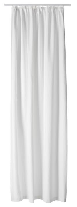 PIETRO Nacht-Fertigvorhang 430266821810 Farbe Weiss Grösse B: 145.0 cm x H: 270.0 cm Bild Nr. 1
