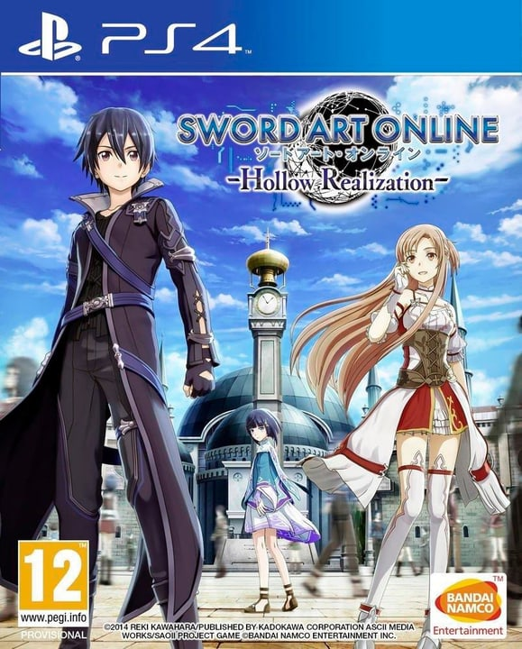 PS4 - Sword Art Online: Hollow Realization Physique (Box) 785300121357 Photo no. 1