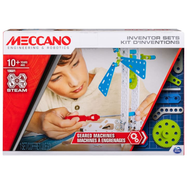 Meccano Inventor Geared Machine 748662300000 N. figura 1