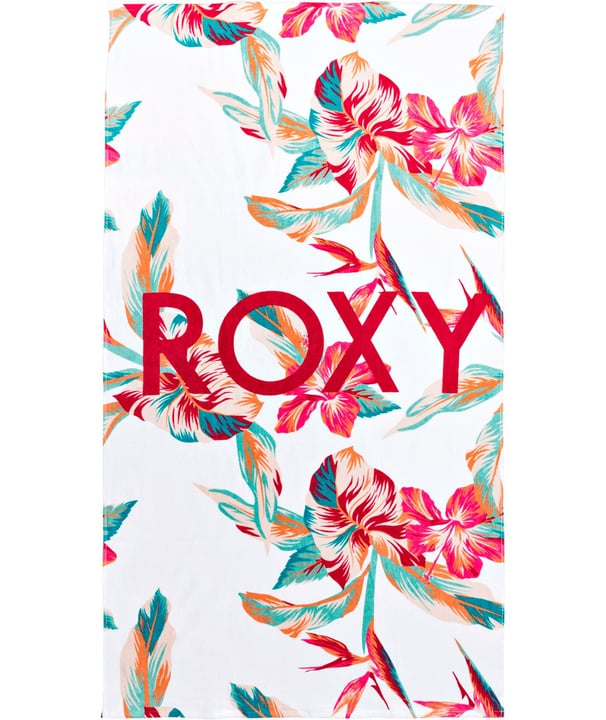 COLD WATER PRINTED Badetuch Roxy 463193899910 Farbe weiss Grösse one size Bild-Nr. 1