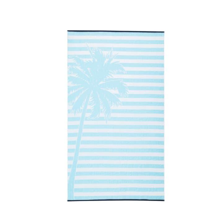 RELAX Serviette de plage 374145520940 Dimensions L: 90.0 cm x H: 160.0 cm Couleur Bleu Photo no. 1