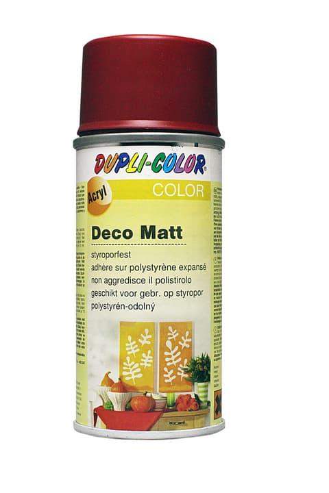 Peinture en aérosol deco mat Dupli-Color 664810011001 Couleur Rouge feu Photo no. 1