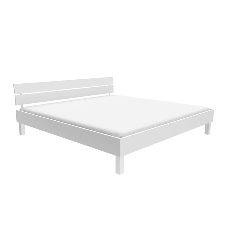 TOPLINE Letto HASENA 403561800000 Colore Bianco Dimensioni L: 180.0 cm x P: 200.0 cm N. figura 1