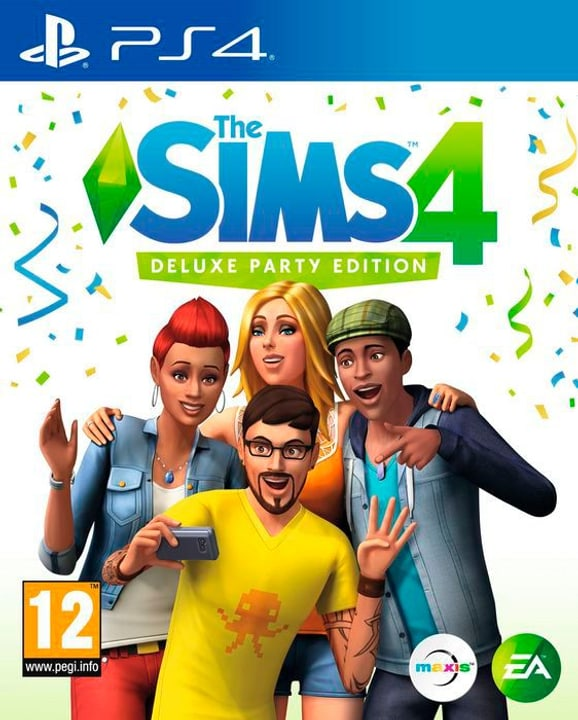 The Sims 4 - Deluxe Party Edition [PS4] 785300130430 Photo no. 1