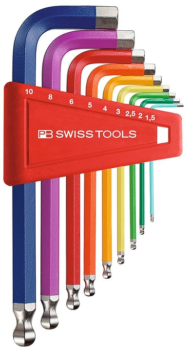 Inbusschlüsselsatz PB212LH CNRB PB Swiss Tools 602758100000 Bild Nr. 1