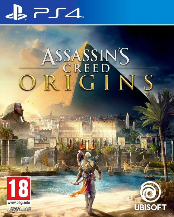 PS4 - Assassins Creed Origins Box 785300122675 Photo no. 1