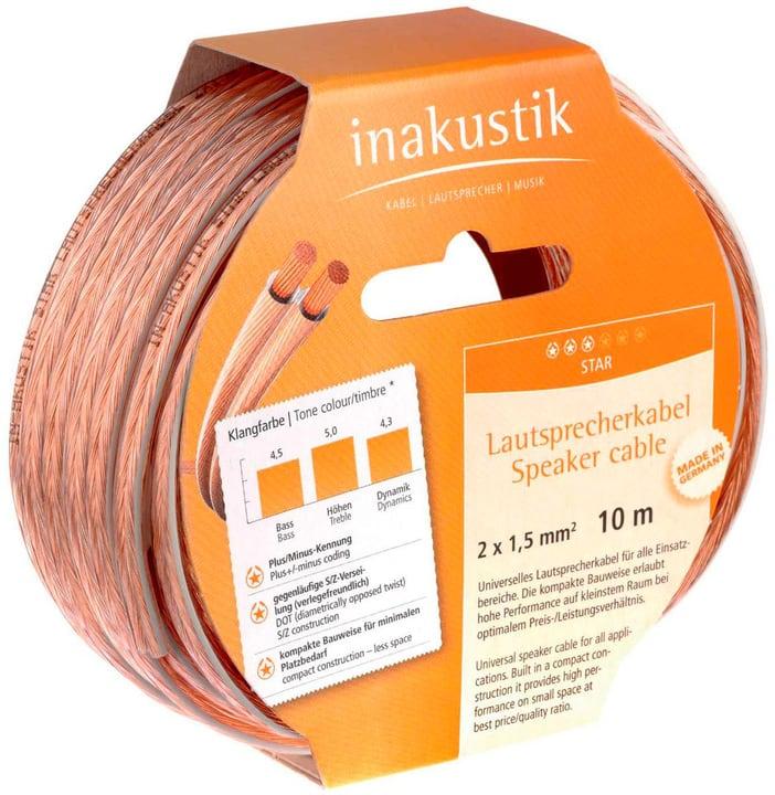 Anneaux de câble de haut-parleur Star, 6.0m câble du haut-parleur inakustik 785300143798 Photo no. 1