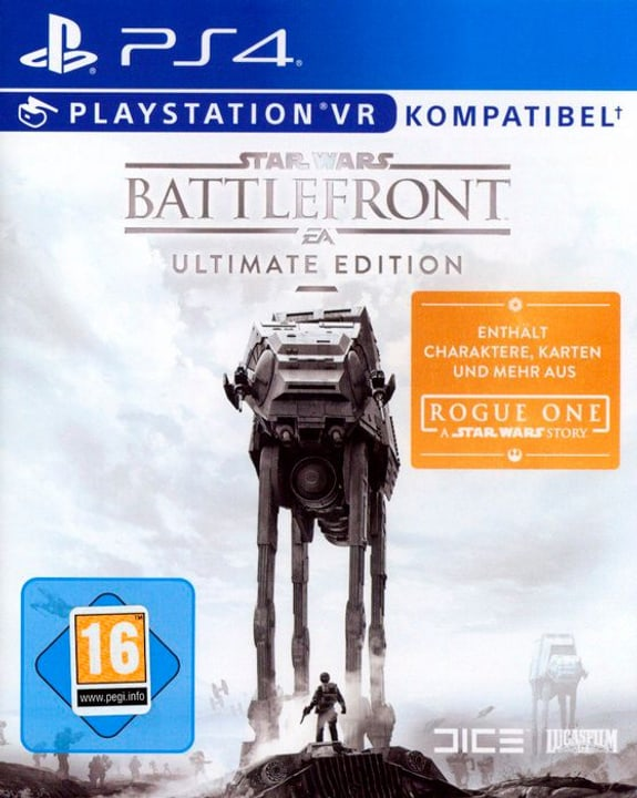 Star Wars Battlefront Ultimate Edition [PS4] (D) Fisico (Box) 785300129613 N. figura 1
