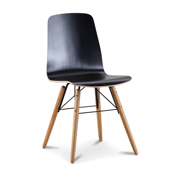 MADS Stuhl 366110800000 Grösse B: 40.0 cm x T: 36.0 cm x H: 81.0 cm Farbe Schwarz Bild Nr. 1