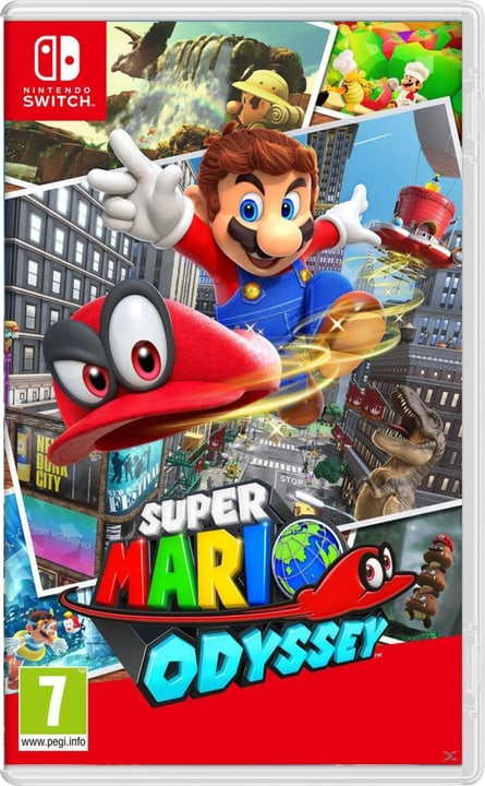 NSW - Super Mario Odyssey (D) Box 785300128790 Langue Allemand Plate-forme Nintendo Switch Photo no. 1
