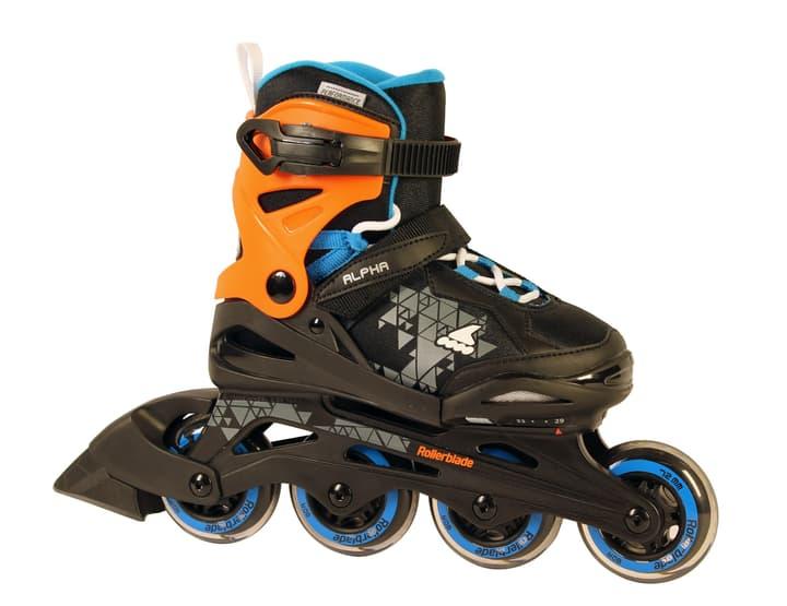 Alpha Kids-Inline Rollerblade 492399029220 Colore nero Taglie 29-33 N. figura 1