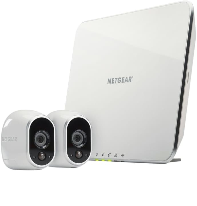 Sicherheitssystem mit 2 HD-Kameras Überwachungskamera Arlo 797948500000 Bild Nr. 1