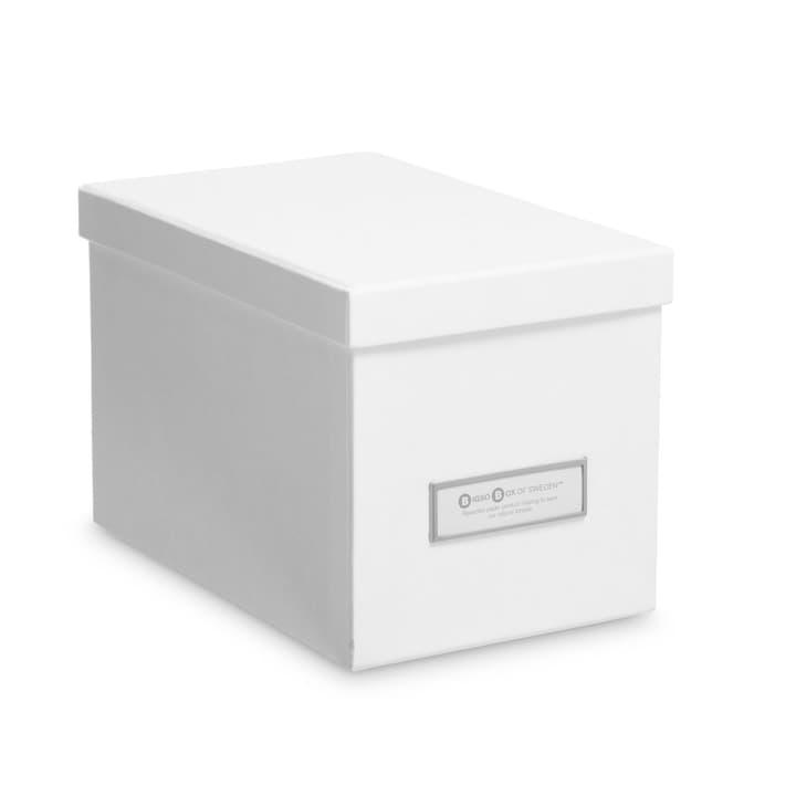 BIGSO CLASSIC boite pour CD/DVD 386068700000 Dimensions L: 22.0 cm x P: 14.0 cm x H: 14.5 cm Couleur Blanc Photo no. 1