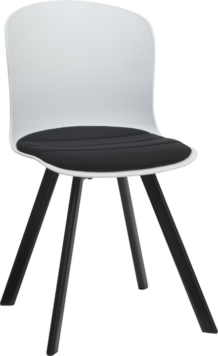 BRERA Stuhl 402398000000 Grösse B: 45.5 cm x T: 54.0 cm x H: 80.5 cm Farbe Schwarz Bild Nr. 1
