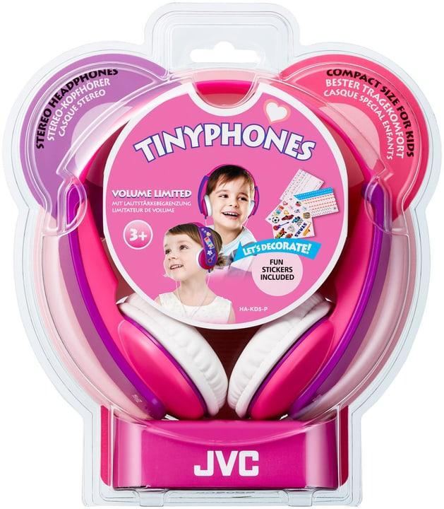 HA-KD5, Pink On-Ear Kopfhörer JVC 772775800000 Bild Nr. 1