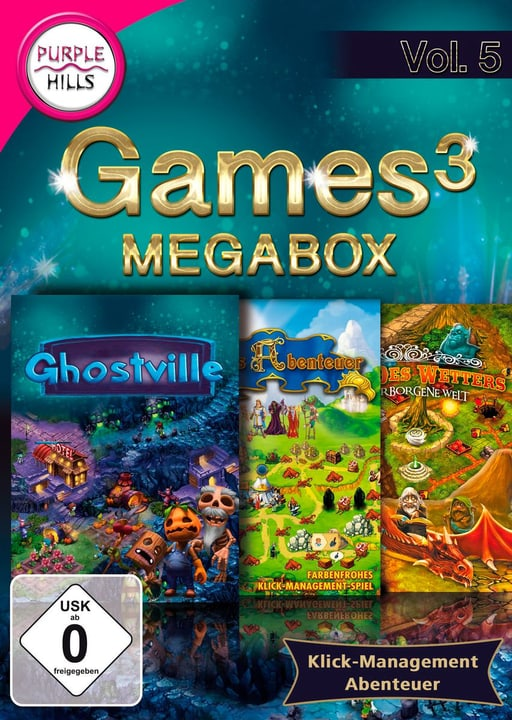 PC - Purple Hills: Games 3 Megabox Vol. 5 (D) Box 785300133094 N. figura 1