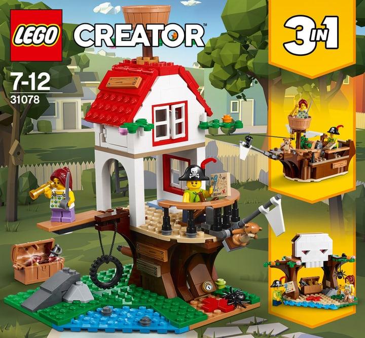 Lego Creator Tesori della casa sull'albero 31078 748880500000 N. figura 1