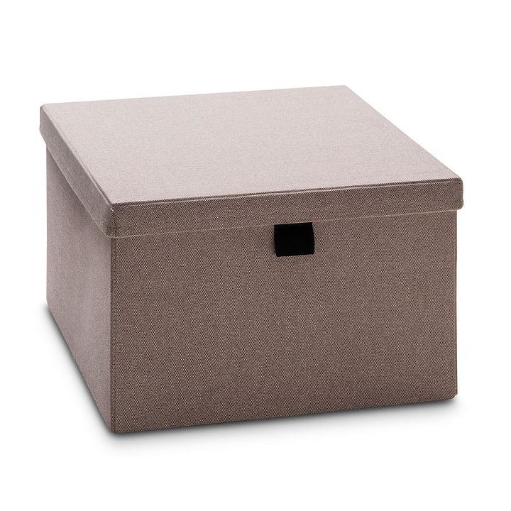MILO Edition Interio Aufbewahrungsbox 364062100000 Grösse B: 41.0 cm x T: 50.0 cm x H: 25.0 cm Farbe Nougat Bild Nr. 1