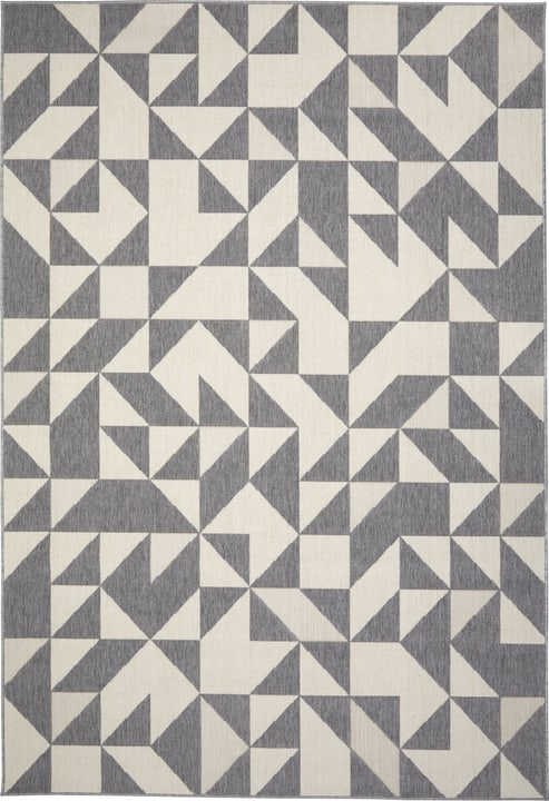 FENIX Teppich 412017116080 Farbe grau Grösse B: 160.0 cm x T: 230.0 cm Bild Nr. 1