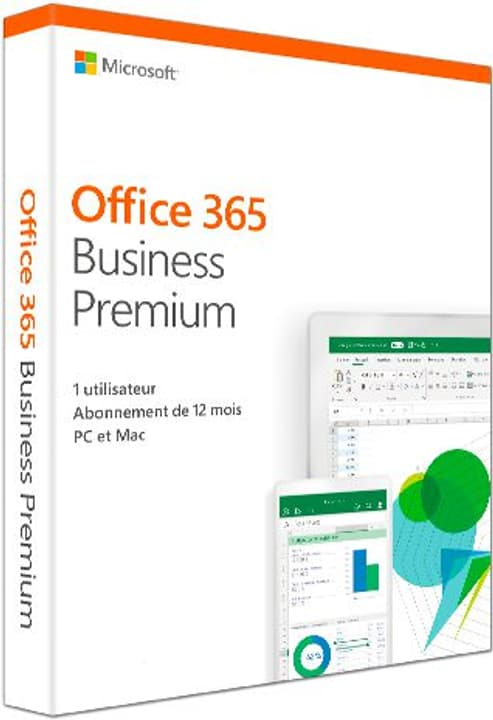 Office 365 Business Premium PC/Mac (F) Physique (Box) Microsoft 785300139598 Photo no. 1