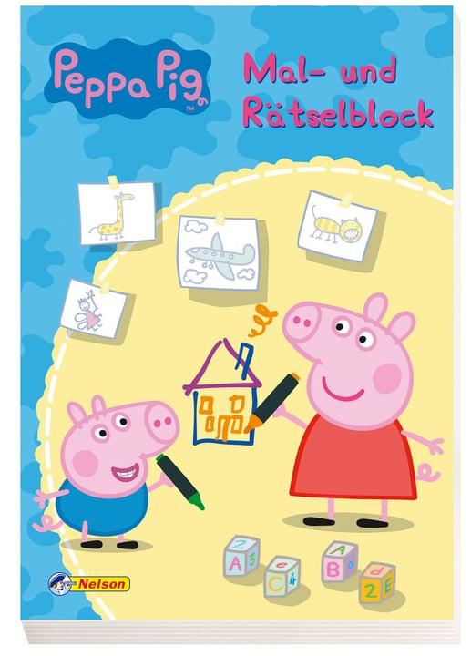 Peppa Pig Mal-Rätselblock 782491000000 Bild Nr. 1