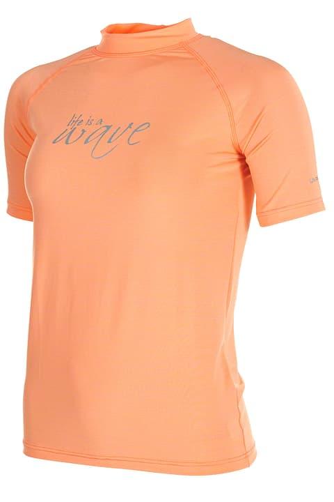 Shirt UVP pour femme MC Extend 462164103657 Couleur corail Taille 36 Photo no. 1