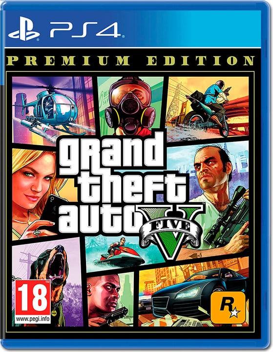 GTA V Premium Edition Box 785300148913 Langue Allemand Plate-forme Sony PlayStation 4 Photo no. 1