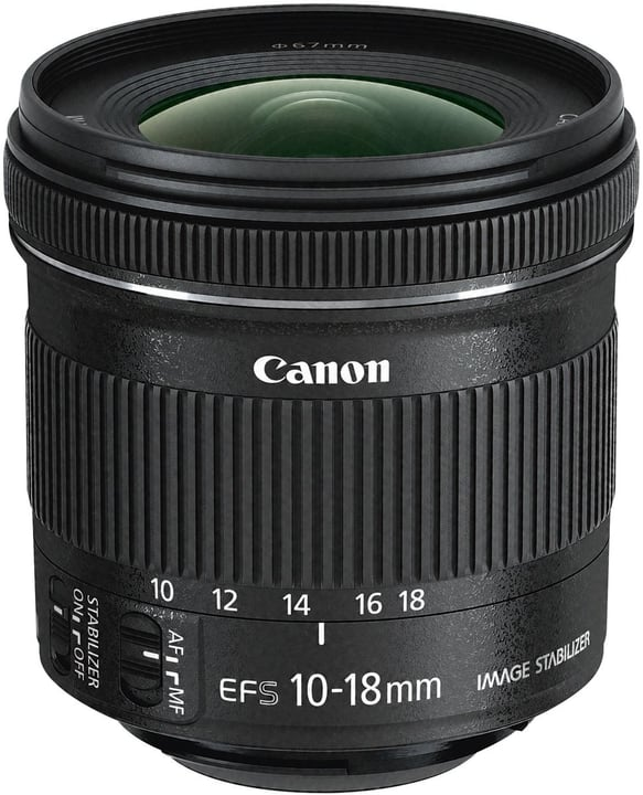 EF-S 10-18mm 4.5-5.6 IS STM Objektiv Canon 793409500000 Bild Nr. 1