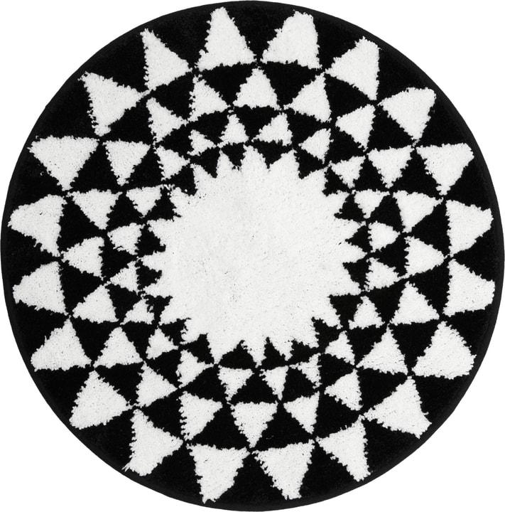 LORENZO Tapis de bain 453027450210 Couleur Noir Dimensions L: 60.0 cm x H: 60.0 cm Photo no. 1