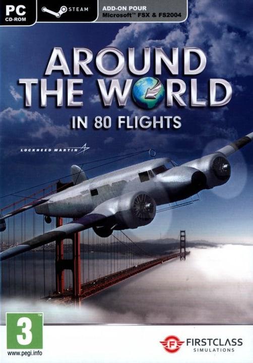 PC - Around The World In 80 flights (Flight Simulator X & STEAM) 785300122474