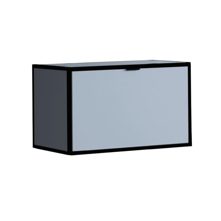 SEVEN Klappe mit Abdeckung Edition Interio 360984200000 Grösse B: 60.0 cm x T: 38.0 cm x H: 35.0 cm Farbe Blau Bild Nr. 1