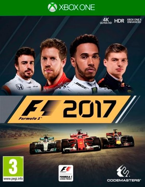 Xbox One - F1 2017 Physique (Box) 785300129970 Photo no. 1