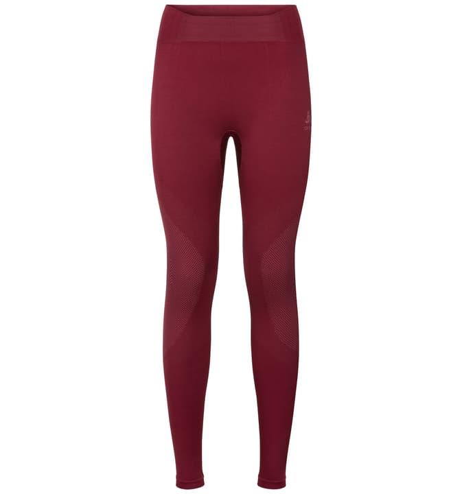 Performance Warm Damen-Unterhose lang Odlo 477077500388 Grösse S Farbe bordeaux Bild-Nr. 1