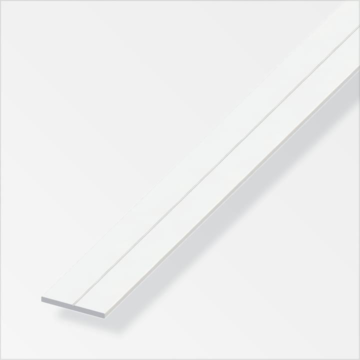 Flachstange 1.5 x 7.5 mm PVC weiss 1 m alfer 605118900000 Bild Nr. 1