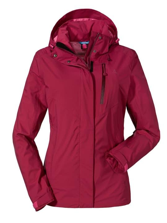 ZipIn! Jacket Alyeska2 Veste pour femme Schöffel 465740404088 Couleur bordeaux Taille 40 Photo no. 1