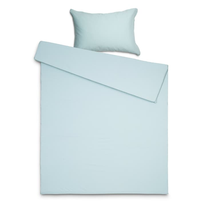 JENA Taie d'oreiller jersey 376030318301 Dimensions L: 70.0 cm x L: 50.0 cm Couleur Vert Photo no. 1