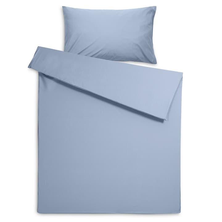 PERCAL Housse de couette percale 376079412540 Dimensions L: 210.0 cm x L: 200.0 cm Couleur Bleu Photo no. 1